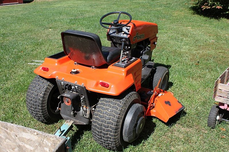 Ariens Lawn Tractor Attachments : Old ariens lawn mowers gallery