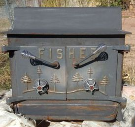 Superbe I Have Been Browsing Through The Various Fisher Threads. I Am Trying To  Identify A Fisher Wood Stove That Looks To Me Like A Fisher Grandpa Bear  Stove.