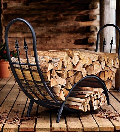 need large modern/contemporary indoor firewood rack sources needed ...