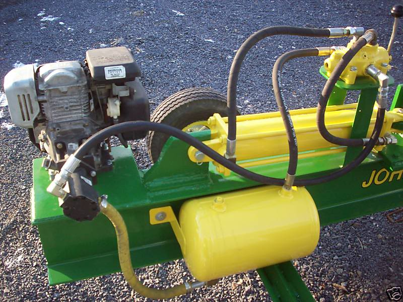 Pictures Of My Homemade Log Splitter Ideas For Hydraulic