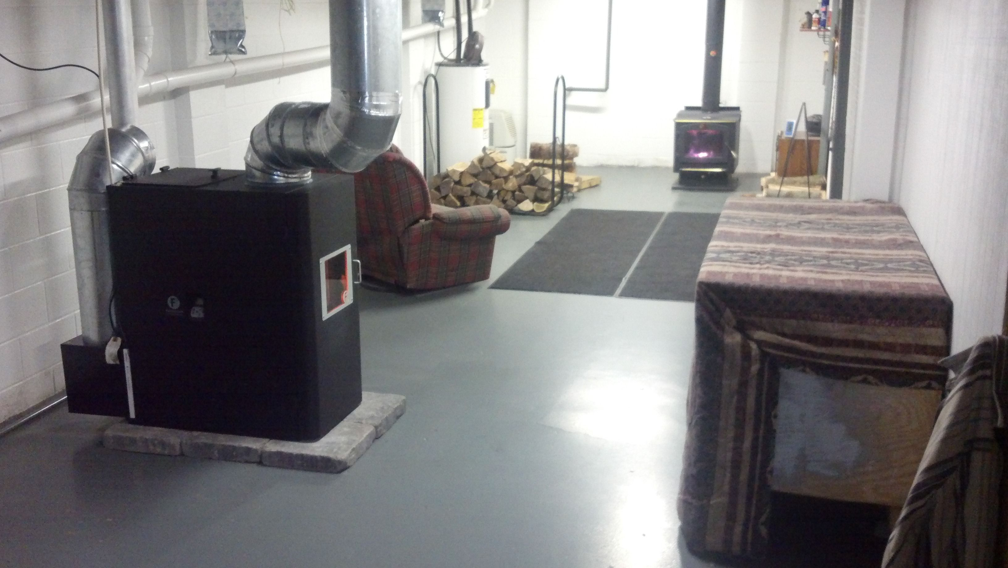 Going Whole Hog 2nd Pellet Stove For Basement Amp 7 Ton