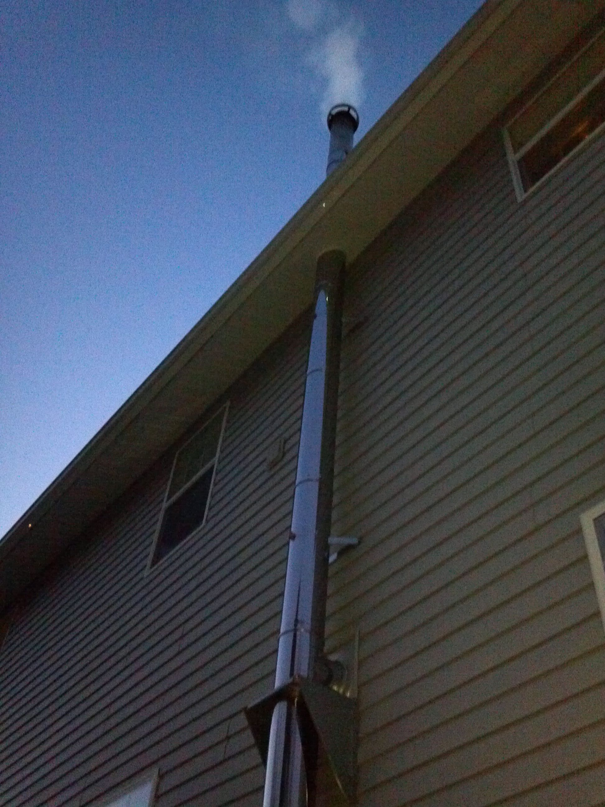 Exterior Chimney Pipe