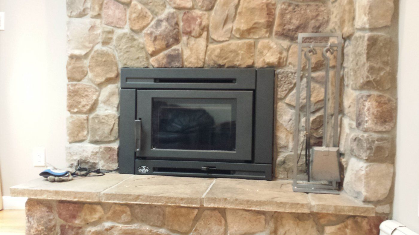 Osburn Matrix Installed ... Just in Time   Hearth.com Forums Home