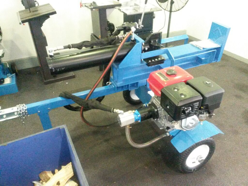 Rugged Made / Rugged Split log splitter | Hearth com Forums Home