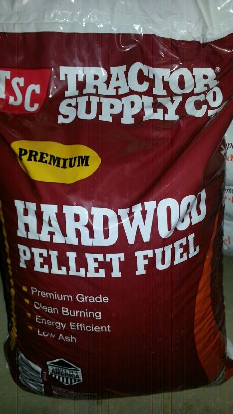 Anyone know who makes these TSC pellets? I just got two bags to try and  have not put them in the stove yet. - TSC Pellets? Hearth.com Forums Home