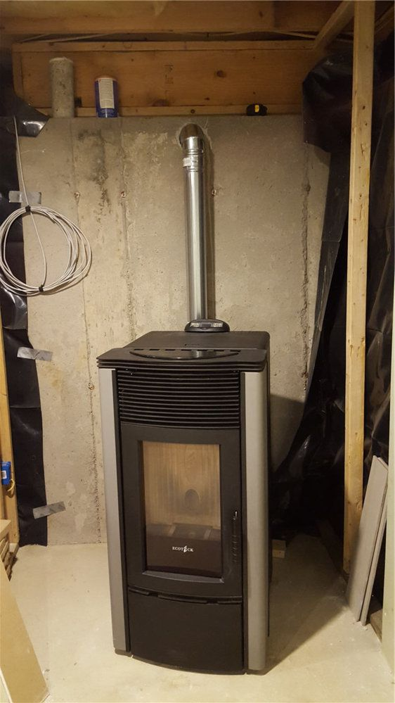 Basement Pellet Stove Installation Hearth Com Forums Home