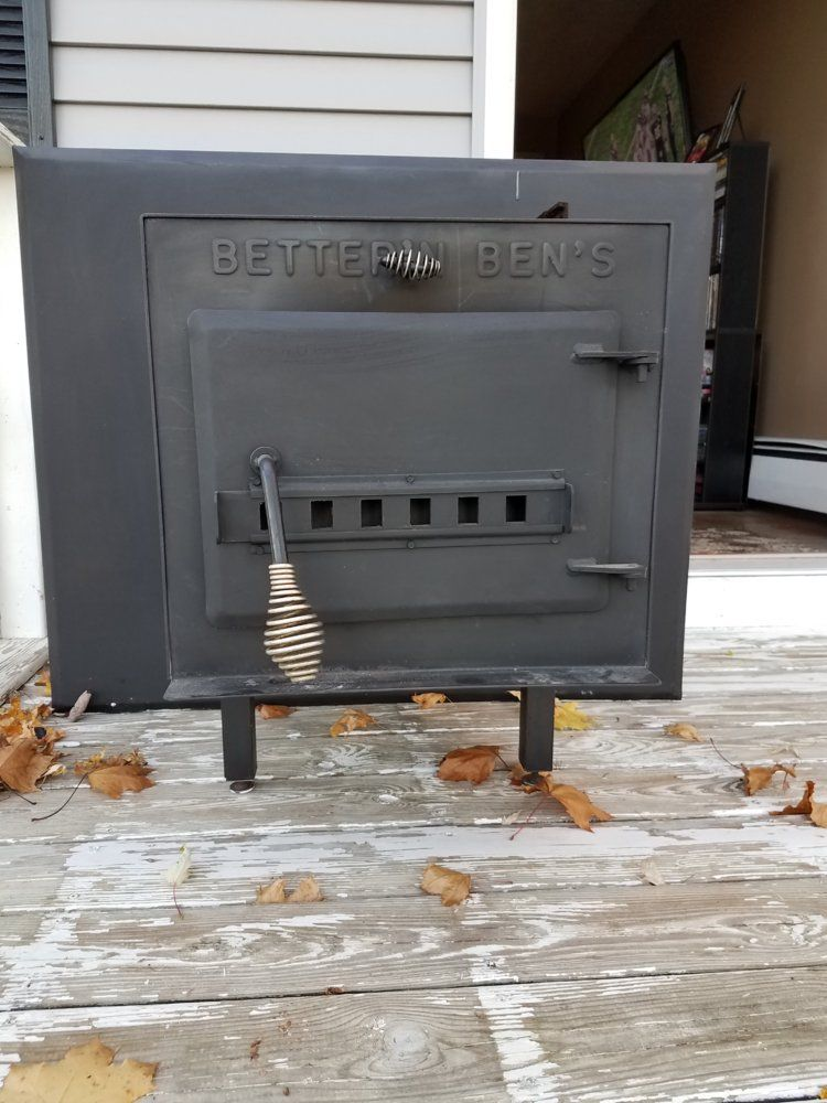 It's worth whatever the market will bear. At this time of year it might get  $250, but after February maybe only $150. Thanks so much begreen I agree  with bg ... - Better N Ben's Wood Stove - Tapatalk