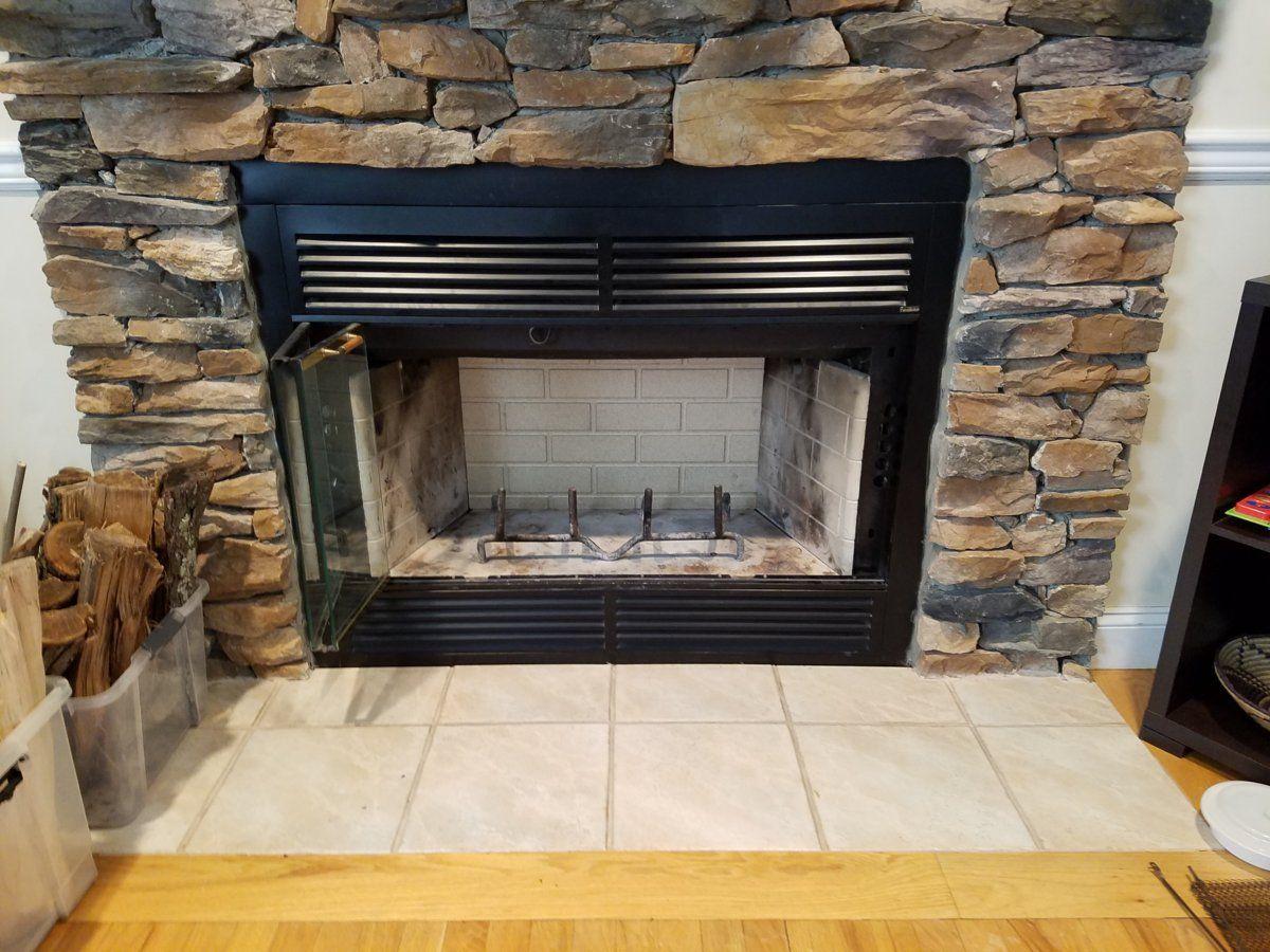 ideas for raised insert install in a pre fab heatilator hearth