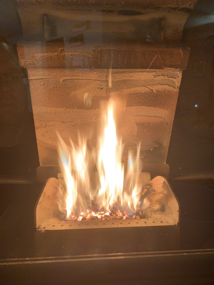 Three weeks in to my first Pellet stove  | Hearth com Forums