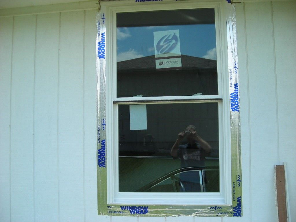 How to install window trim exterior - The Other Options I Have Seen Are Attaching The Window Directly To The T1 11 As In A New Construction At Some Point I Am Going To Put Another Exterior
