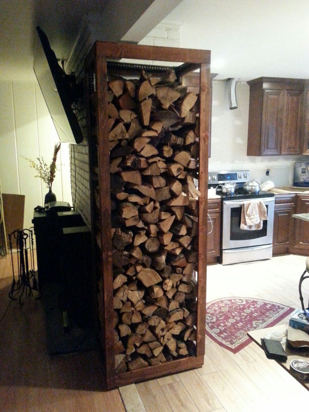 indoor wood rack | Hearth.com Forums Home