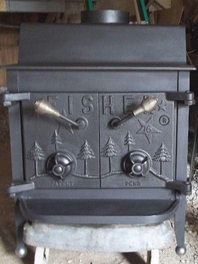 fisher wood stove 3