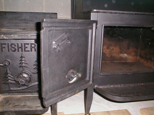 76 GP Door Seal.jpg - FISHER Grandma And Grandpa Bear Details (Fireplace Series