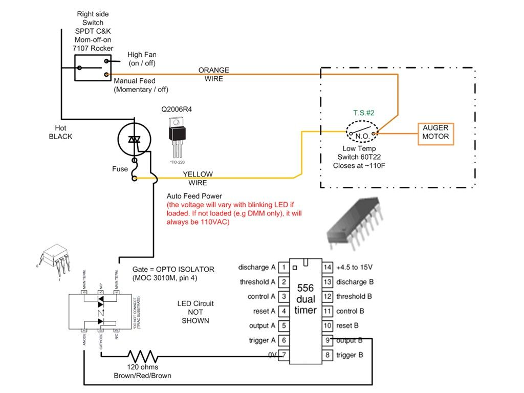 Timer Wiring Diagram For An Auger Ge Pool Motor Breckwell Controller Switch Needed Any Thoughts Hearth Com Defrost
