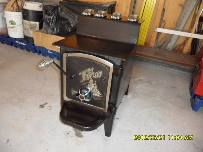 Fisher Stoves : Fisher Wood Stove : Baby Bear Fisher Wood Stove
