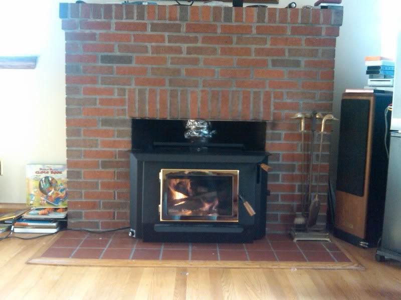 Yet Another New Blaze King Princess Insert Installed Hearth Com Forums Home