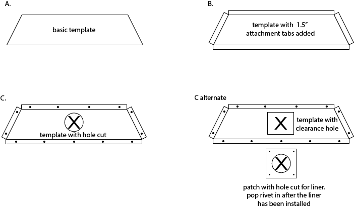 Make a damper sealing block-off plate | Hearth.com Forums Home