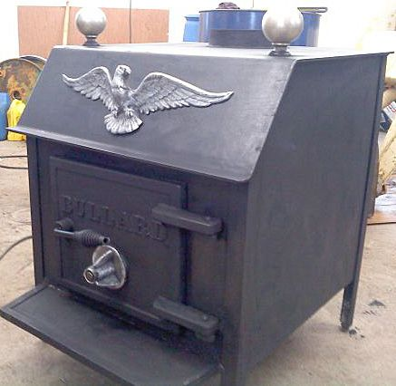 Bullard Manufacturing of Syracuse, NY produced a line of very heavy duty  steel wood stoves and inserts in the period of the late 1970's. - Bullard Stove Company Hearth.com Forums Home