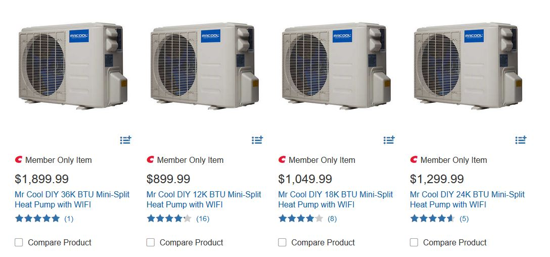 Costco central air conditioner