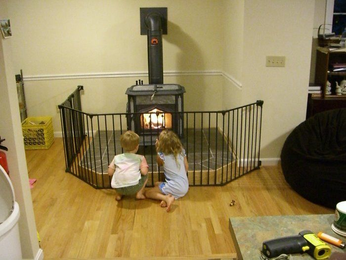 CIMG2300-1.JPG - Wood Stove Safety Gate??? Hearth.com Forums Home