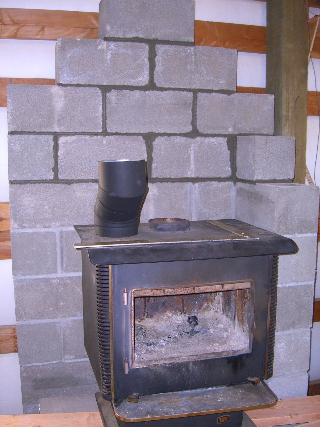 another wood stove in a pole barn thread hearth com forums home