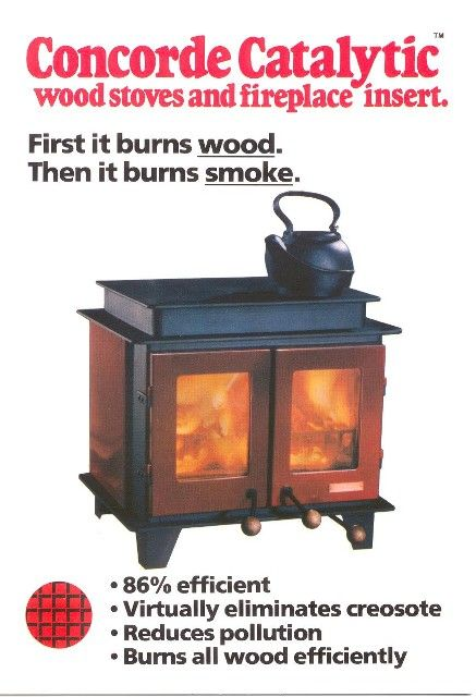 Concorde catalytic forums home for Lakewood wood stove