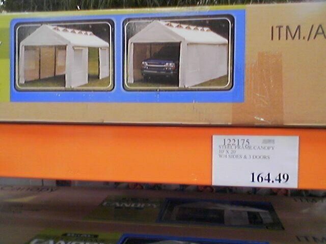 costcocanopy.jpg & Anyone use a canopy/carport as a woodshed? | Hearth.com Forums Home