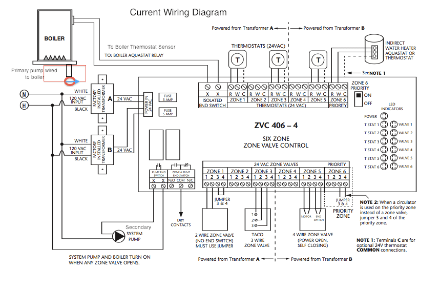 caleffi zone valve wiring diagram