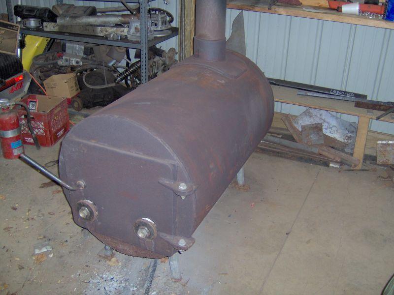 Custom Wood Burner..jpg - Barrel Stove Kits Hearth.com Forums Home