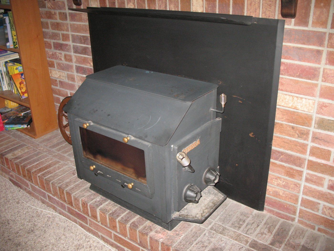 December 2012 004.jpg - What To Do With A Sierra Wood Stove Installed In 1983? Hearth