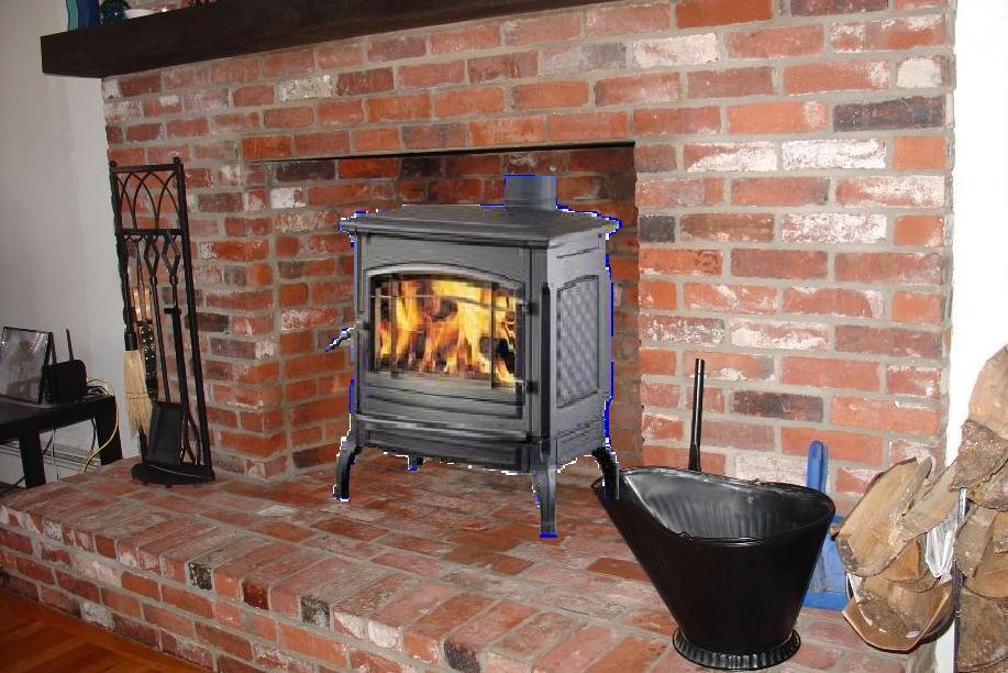 Vision flat top stove
