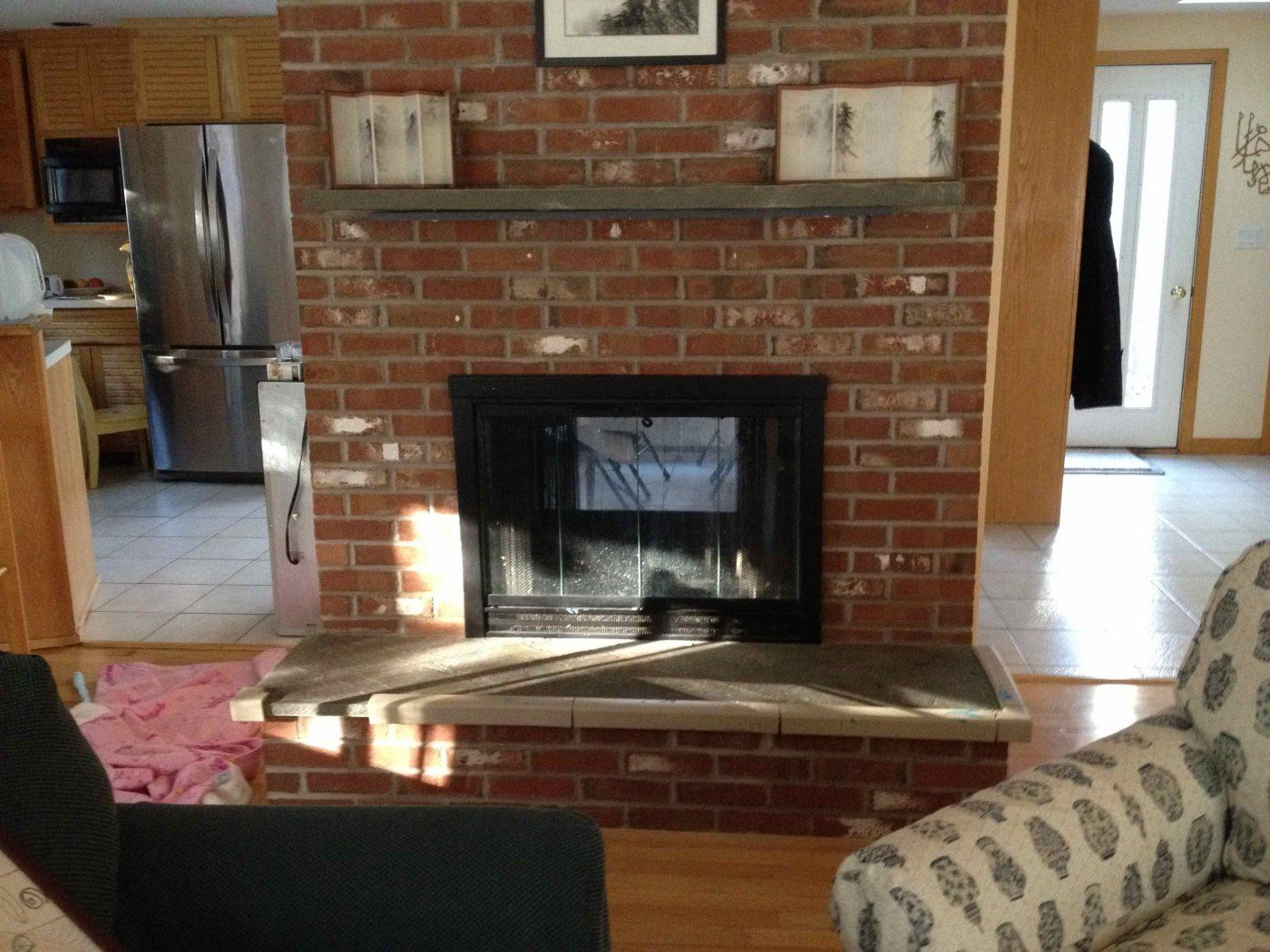 advice putting electric outlet in fireplace hearth com forums home