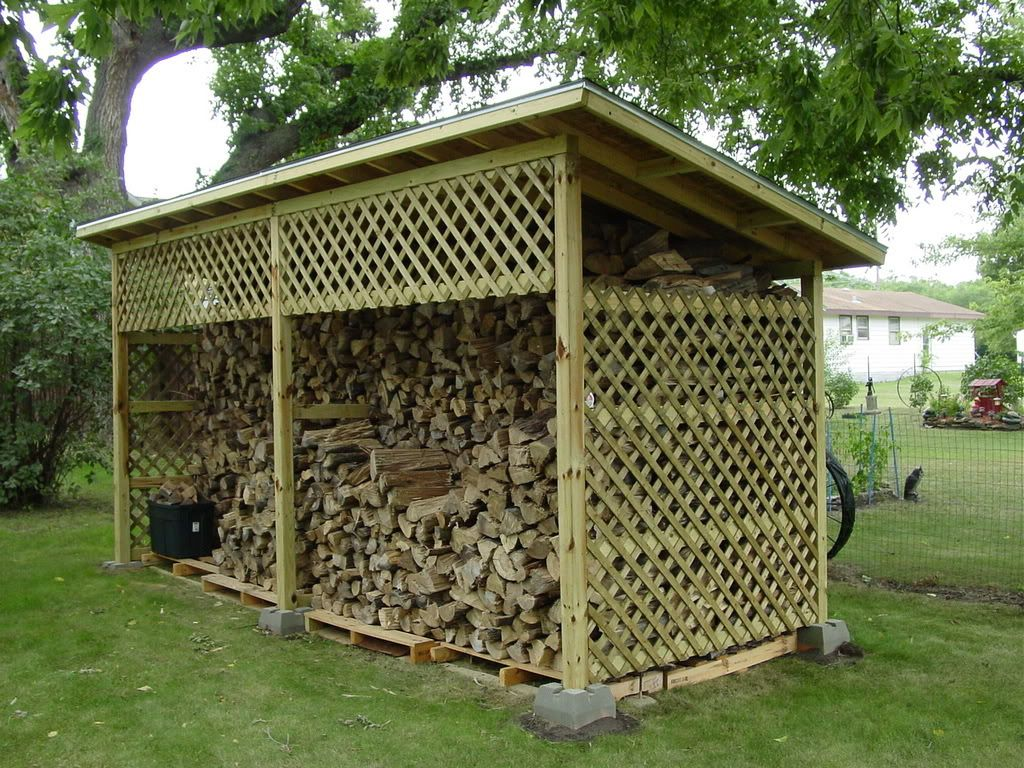 Wood Shed Capacities Hearth Com Forums Home