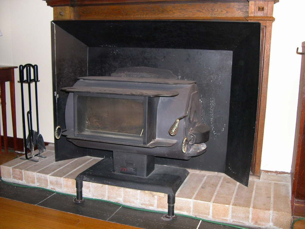 can an older wood stove be made safer for indoor air quality