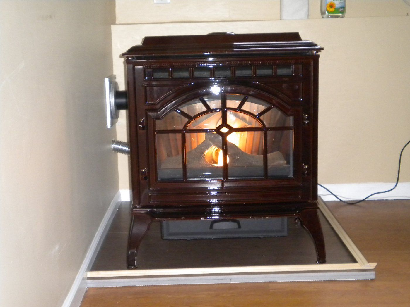 just got the new stove installed quad mt vernon and have some