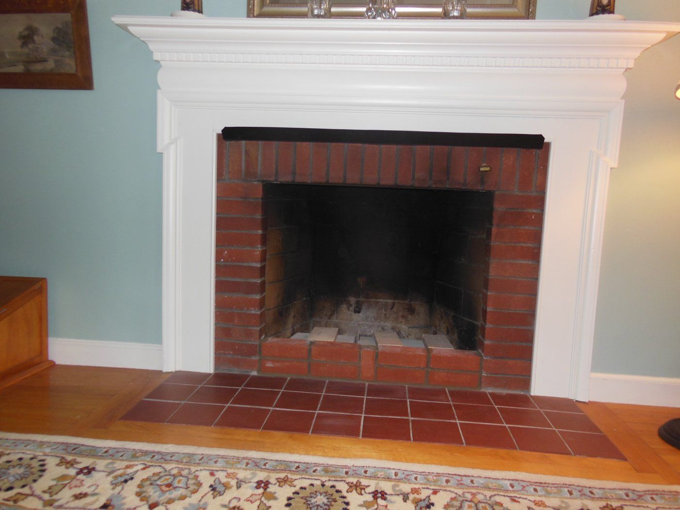 keepers shield damper chimney fireplace to operate how heat