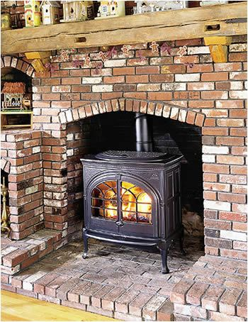 installing wood stove in masonry fireplace 1