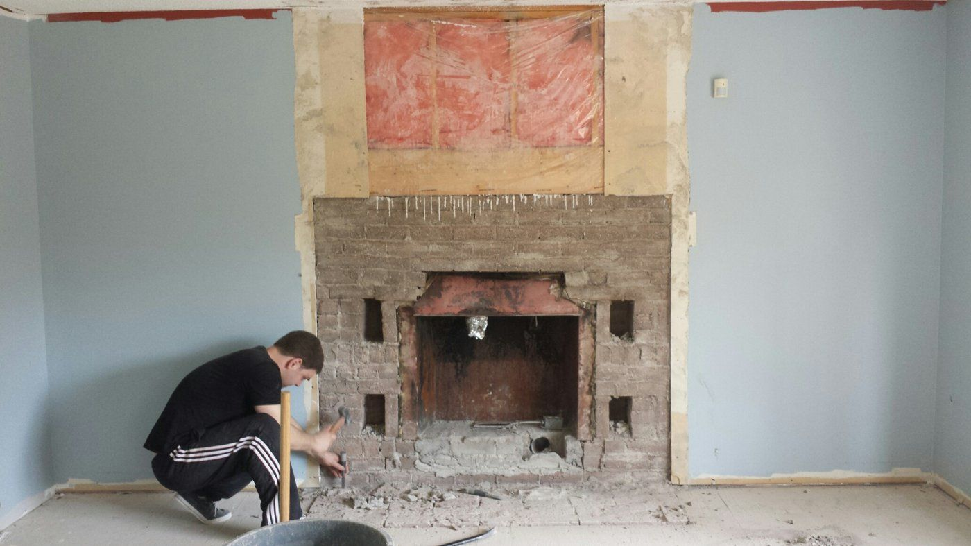framing for new wood burning insert hearth com forums home