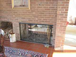 see through fireplace insert or two sided stove forums