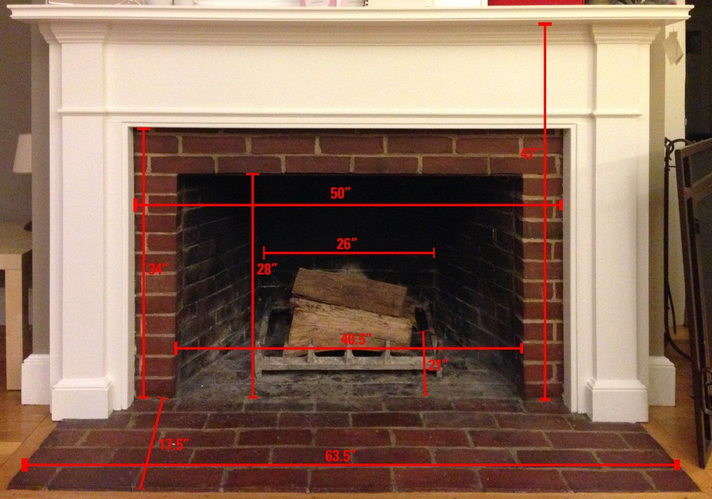 New insert tight clearances only 2 options hearth for Fireplace insert options