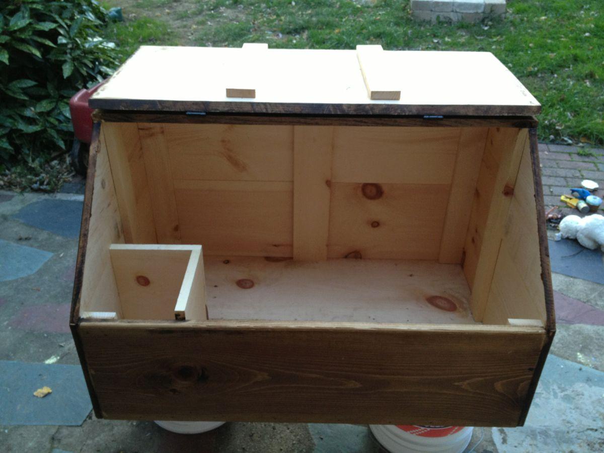 Attirant Firewood Box Open ...