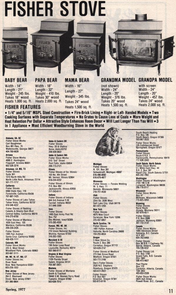 Here is a Fisher ad and dealer listing from 1977 - Coaly, feel free to move  the post or tell me if it should be in another thread, etc. - FISHER Papa, Mama, And Baby Bear Details (Bear Series) Page 4