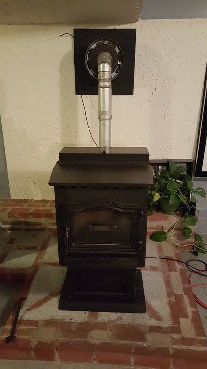 how to turn off harman pellet stove p35i