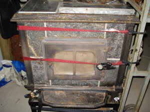 Soapstone Wood Stove By Hearthstone Phoenix Brown Enamel