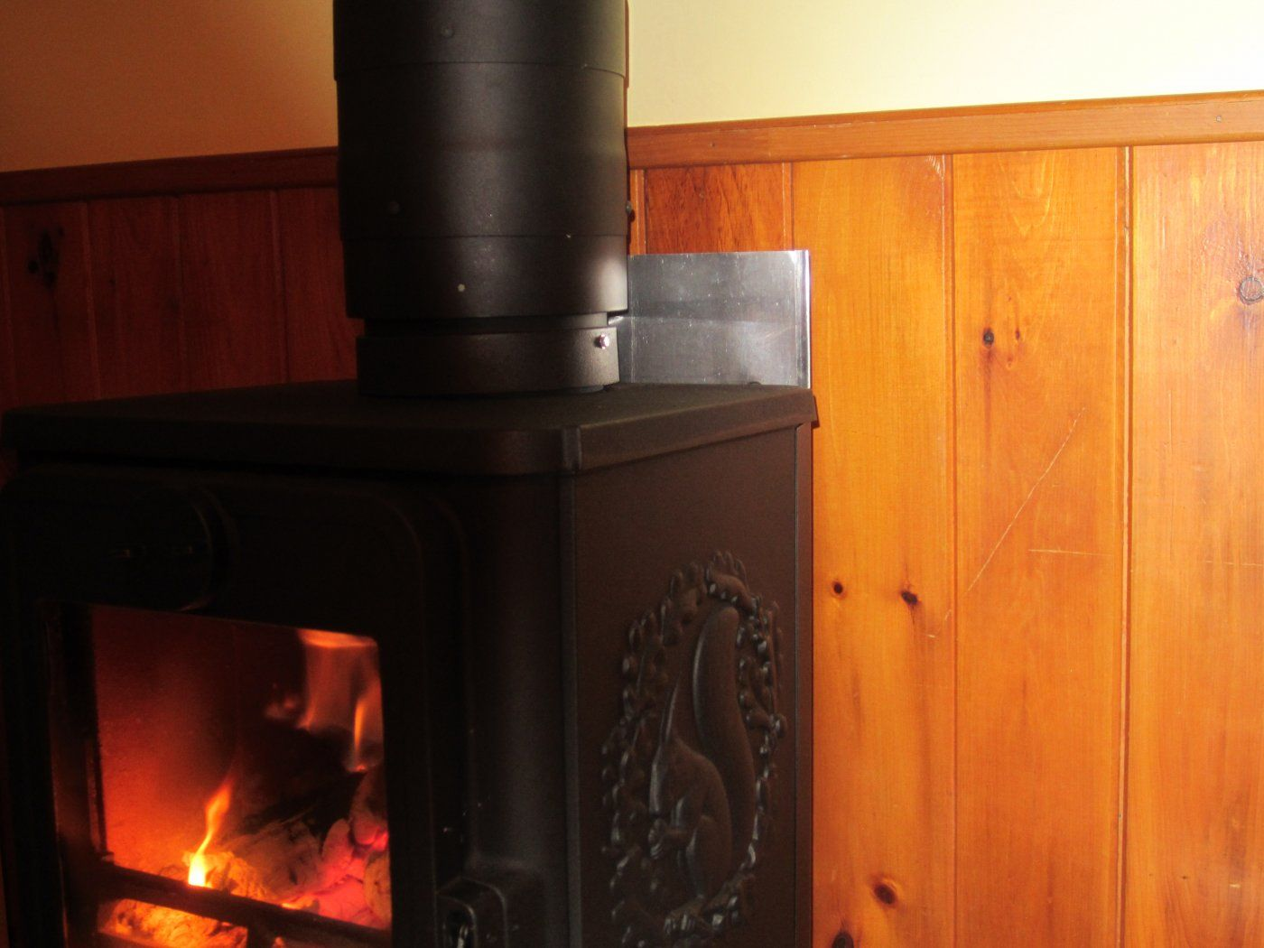 additional heat shield on a double wall pipe hearth com forums home