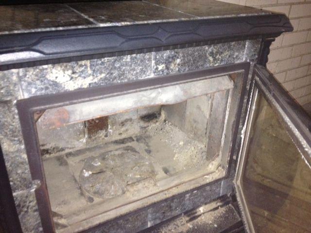 Hearthstone Homestead Warped Bent Primary Air Manifold