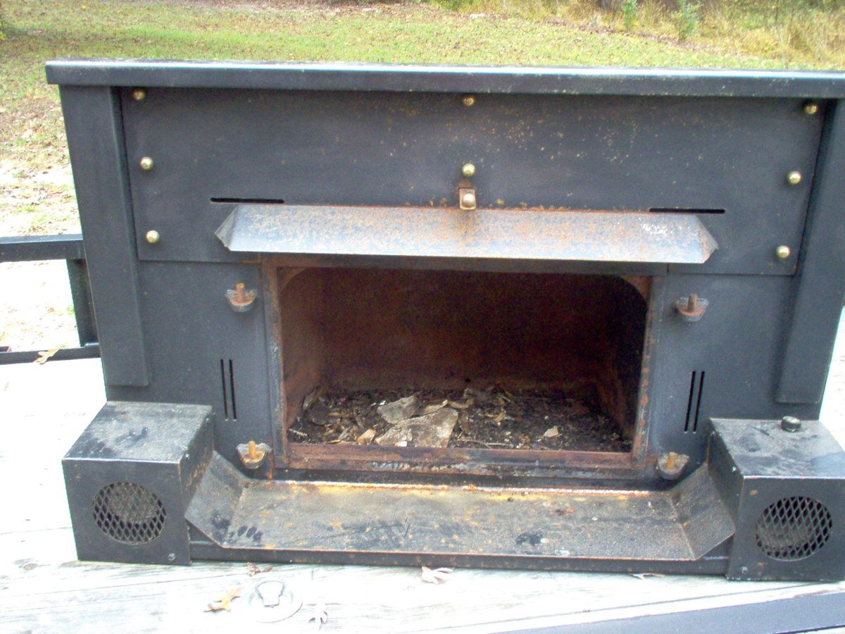 Hole drilled in insert | Hearth.com Forums Home