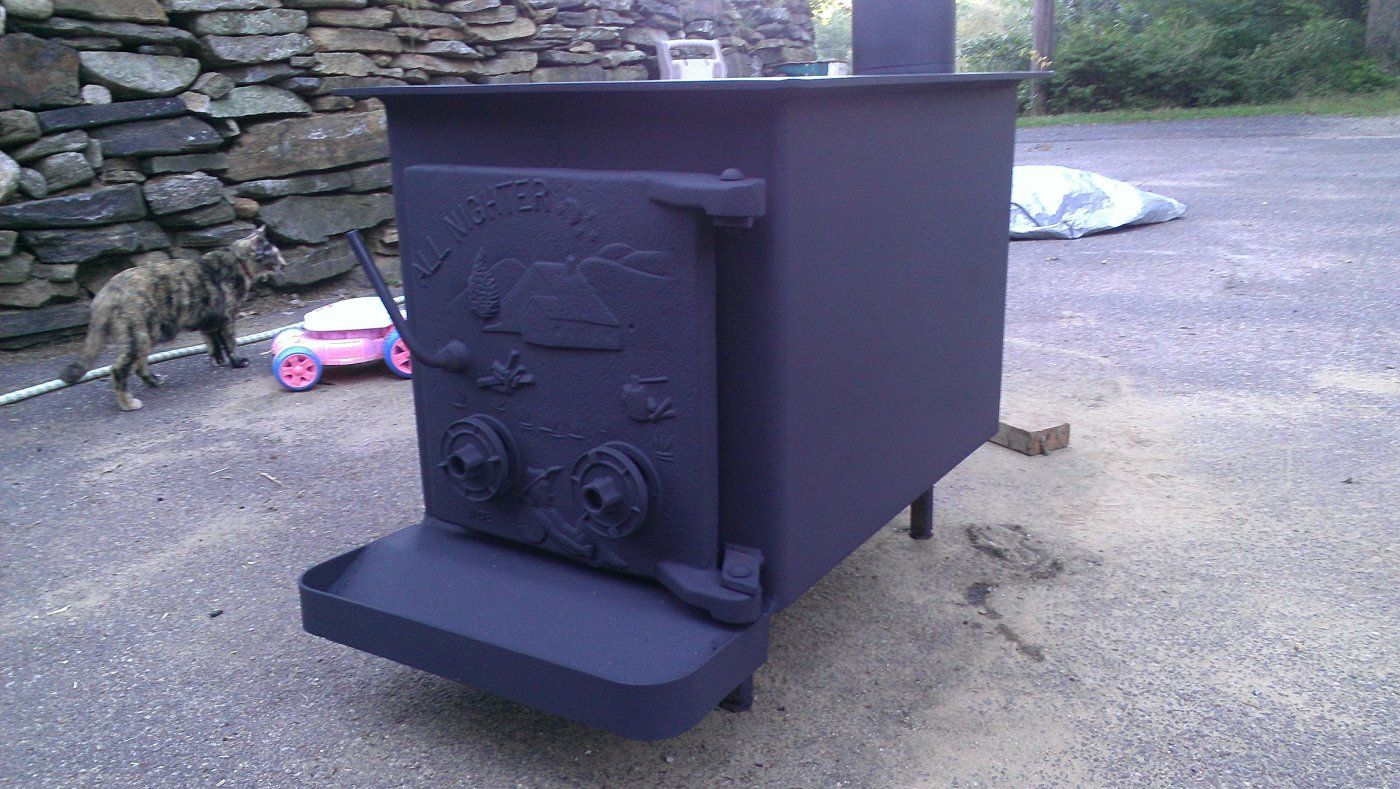 IMAG0979.jpg ... - Which All Nighter Wood Stove Is This? Hearth.com Forums Home