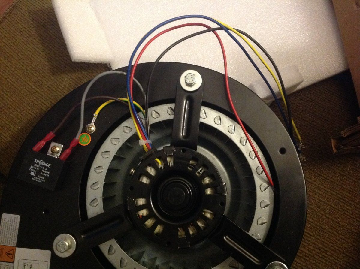 wiring a new distribution motor for an accentra hearth com Basic Electrical Wiring Diagrams at edmiracle.co