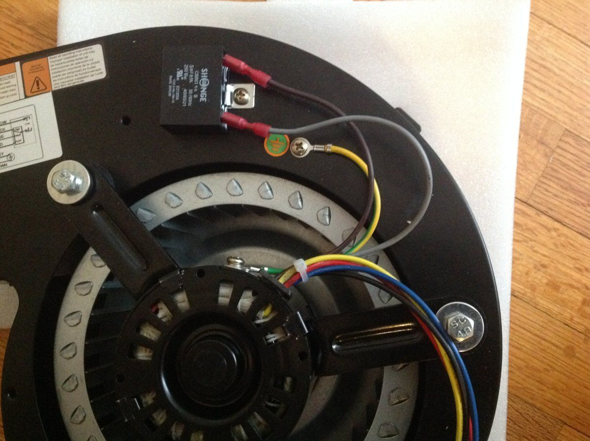 wiring a new distribution motor for an accentra hearth com forums home